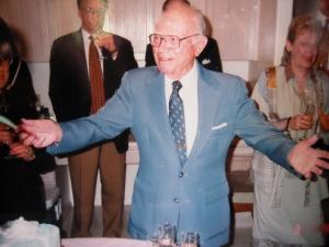 Dad at his 90th birthday