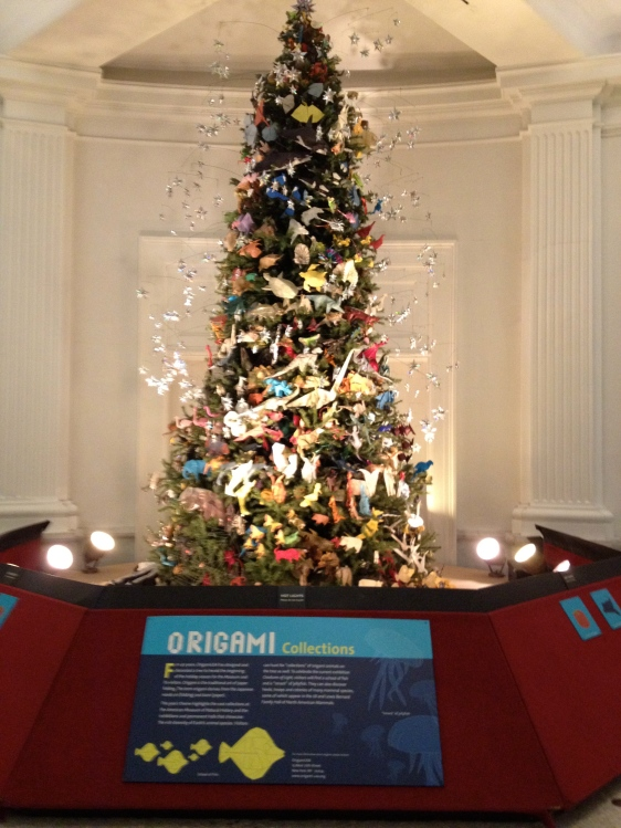 2012 Museum of Natural History Christmas Tree