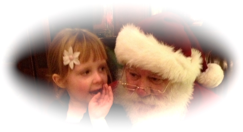 Sharing with Santa