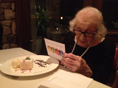 Sr. Advisor R, 101st birthday